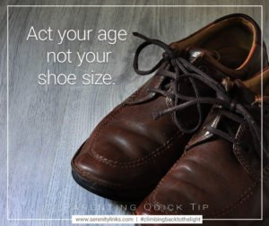 age not shoe size