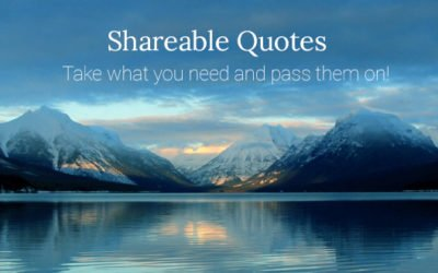Shareable Quotes
